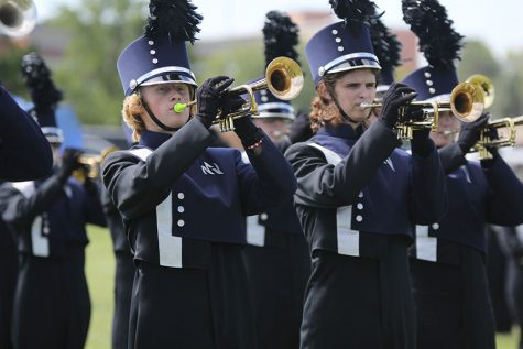 Marching Jaguars receive all one ratings at Central State Marching Festival