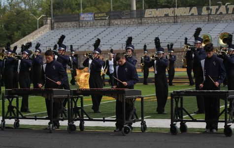 Band adds new percussion and freshmen to their lineup
