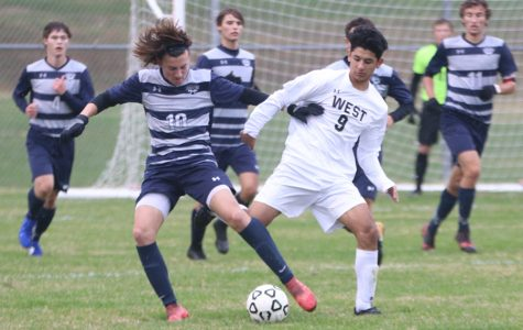 Boys soccer season ends with 3-1 loss to Shawnee Mission West