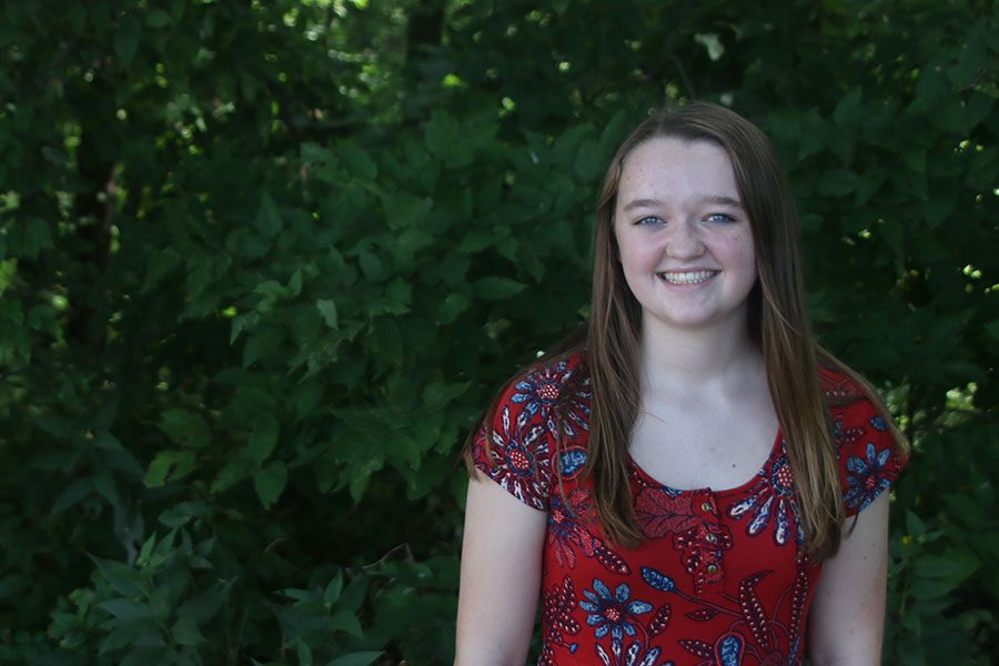 Madison Larson, MVTV reporter/videographer