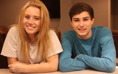 "Over the course of nine years, junior Emma Smith and senior Alec Schiffman have developed a close relationship as siblings. ""Our family has grown very close and I consider my step brothers just as close to me as I consider my blood brother,"" said Emma Smith."