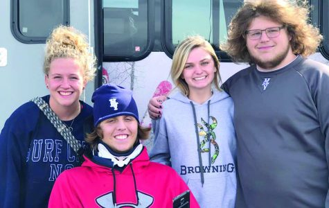 Senior Nolan Sprague recovering from diving accident, met with support from the community
