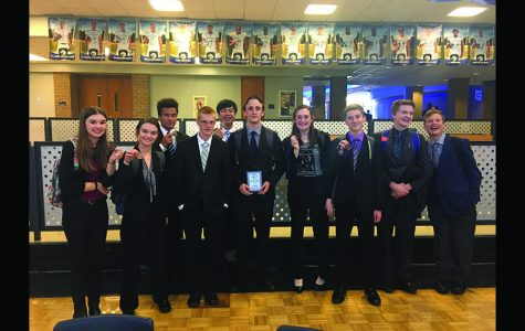 Debate places third at a two-day tournament