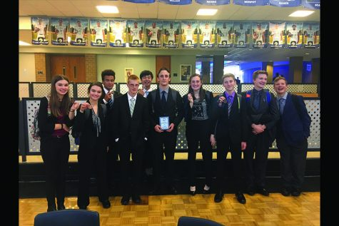 DECA competes at Leavenworth High School in third competition of the year