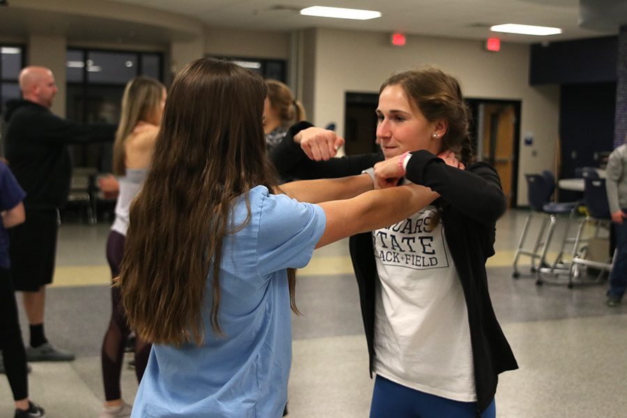 Self-defense class held for community
