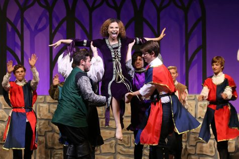 Gallery: Students rehearse Once Upon A Mattress