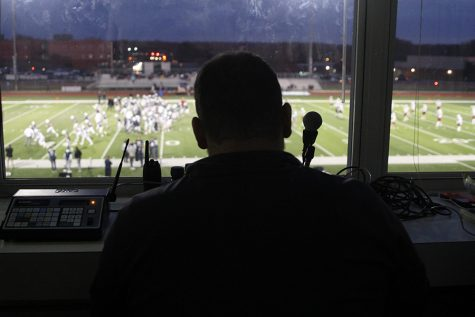 Football announcer positively impacts community through job