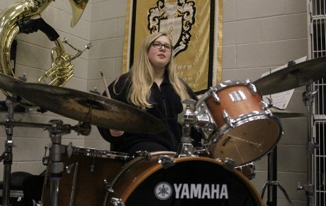 Jazz band encourages student self-expression through freeform music