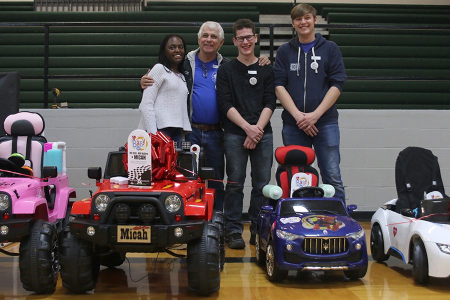 Robotics team modifies toy cars for special needs children