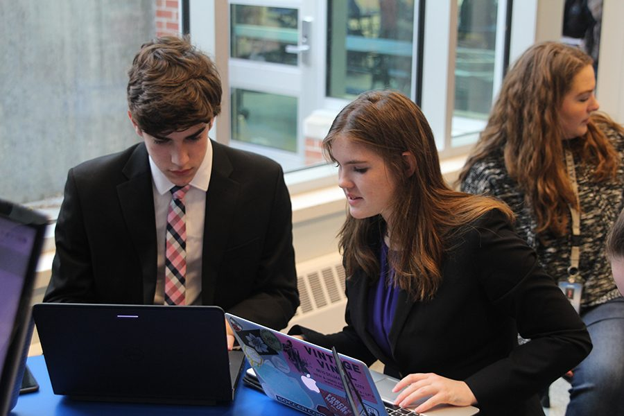 Debate duo places first overall at Shawnee Mission East