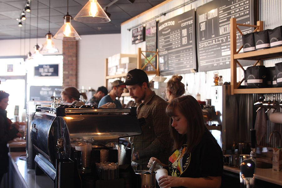 The+Black+Dog+coffee+house+features+a+menu+the+is+uniquely+specific+to+Kansas+City.+They+receive+coffee+roasted+by+Messenger+Coffee+in+Kansas+City%2C+and+all+of+their+lunch+and+breakfast+items+are+produced+by+the+Ibis+bakery%2C+which+is+situated+next+door.