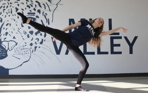 Students express themselves through the art of dance