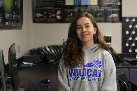 Junior Isabella Baker enjoys STEM-based classes and activities