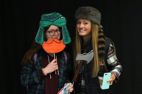 Gallery: Winter Homecoming Photo Booth: Tuesday, Jan. 29