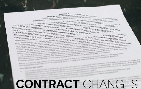Updated substance abuse contract outlines penalties for extracurricular activities