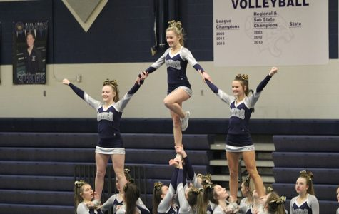 Cheerleading hosts a showcase for community members