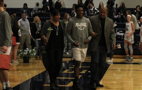 Gallery: Cheerleaders and basketball players recognized at senior night