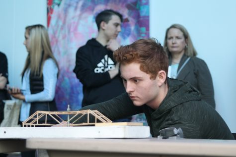 Gallery: Students compete at bridge building competition