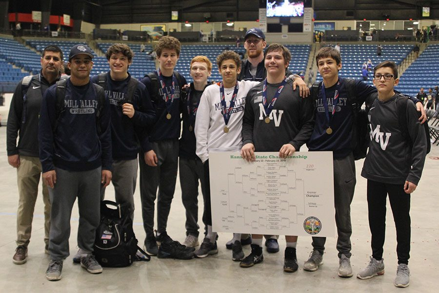 The team placed seventh overall.