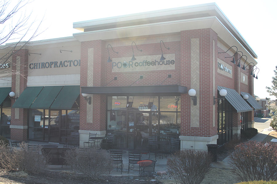 JagWire staffers visited Pour Coffeehouse, a cafe with handmade pastries and coffee, on Sunday, Feb 24. It is located at 11120 S Lone Elm Rd, Olathe, KS 66061.