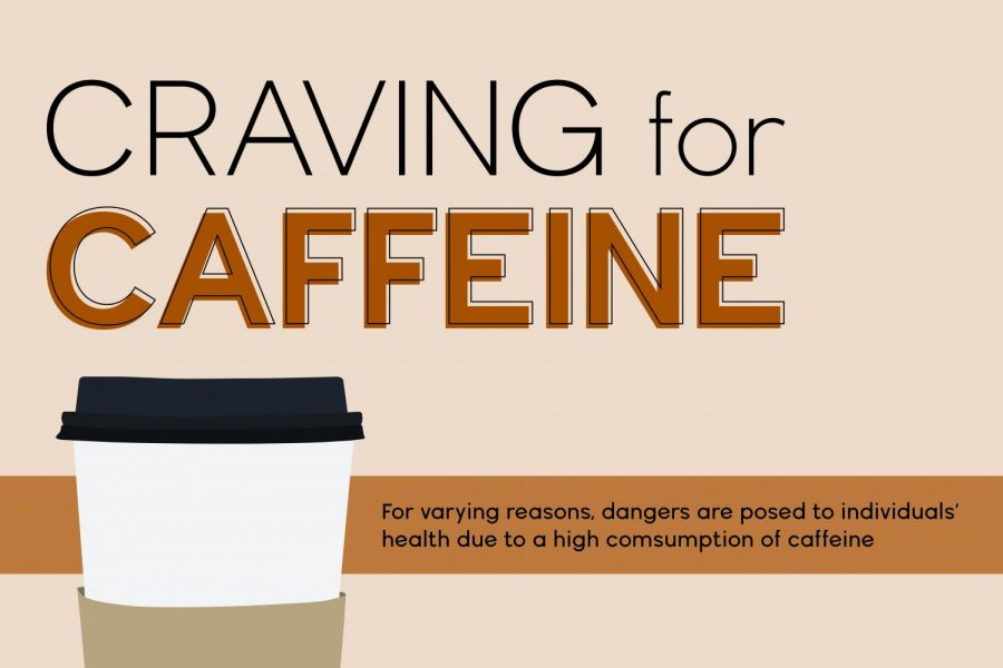 Students experience negative and positive effects of caffeine