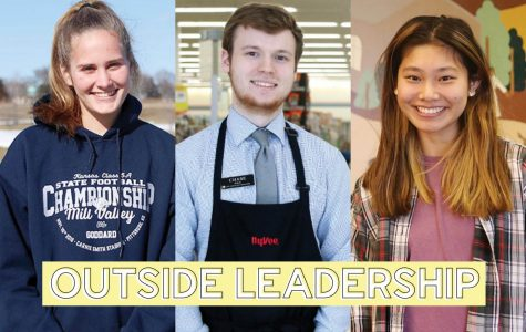Students take on leadership positions outside of school