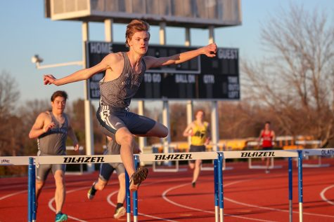 Gallery: track teams compete in a preseason track meet