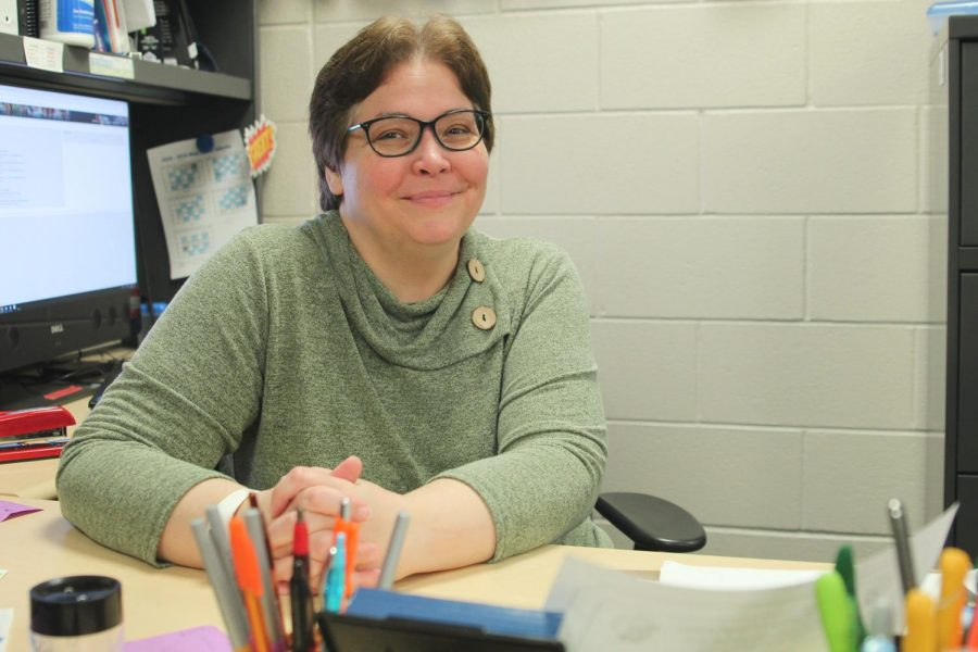 As a member of the Executive Leadership team, technology teacher Helga Brown represents teachers from her department.