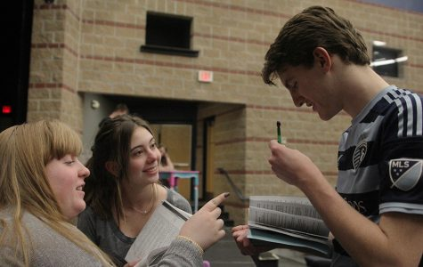 Students demonstrate leadership by directing theatrical productions