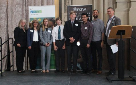 Senior Engineering students present year-long projects at annual event hosted by the KC Stem Alliance
