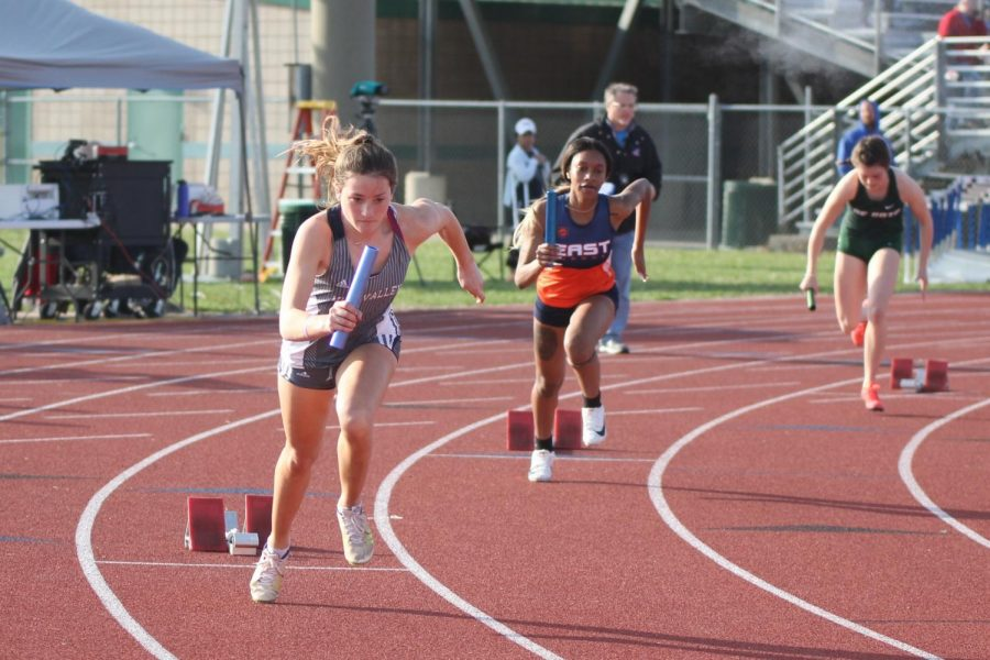 Gallery: Track team girls place first and boys place second in Olathe Invitational meet