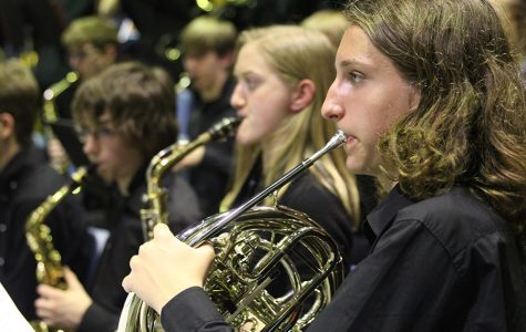Symphonic band receives a one rating and concert band receives a two rating at state