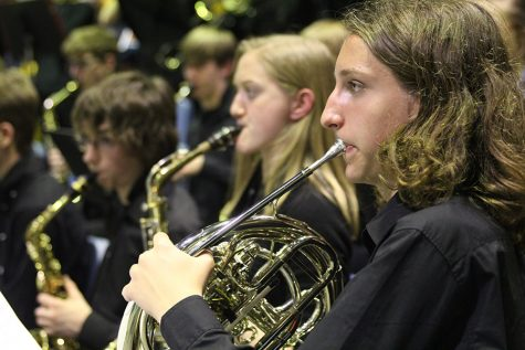 Jazz Band holds first concert of the year
