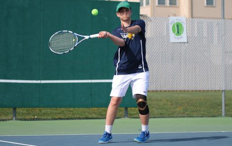Boys tennis wins dual at home against Bonner Springs High School