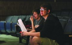 "Seniors Noah Smith and James Ball write and direct ""Foster"""