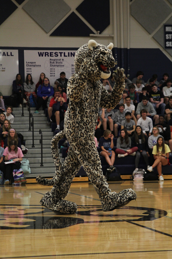 Mill Valley News | Mayhem Week: Prom pep assembly