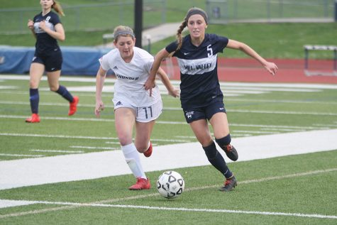 Girls soccer team defeats Shawnee Mission Northwest 3-0