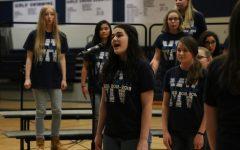 Choir performs their annual pop show