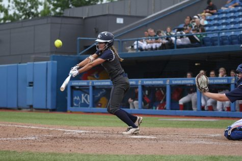 Gallery: softball is defeated by Topeka Seaman in 5A state third place game