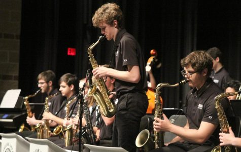 Jazz band performs in final concert of the year