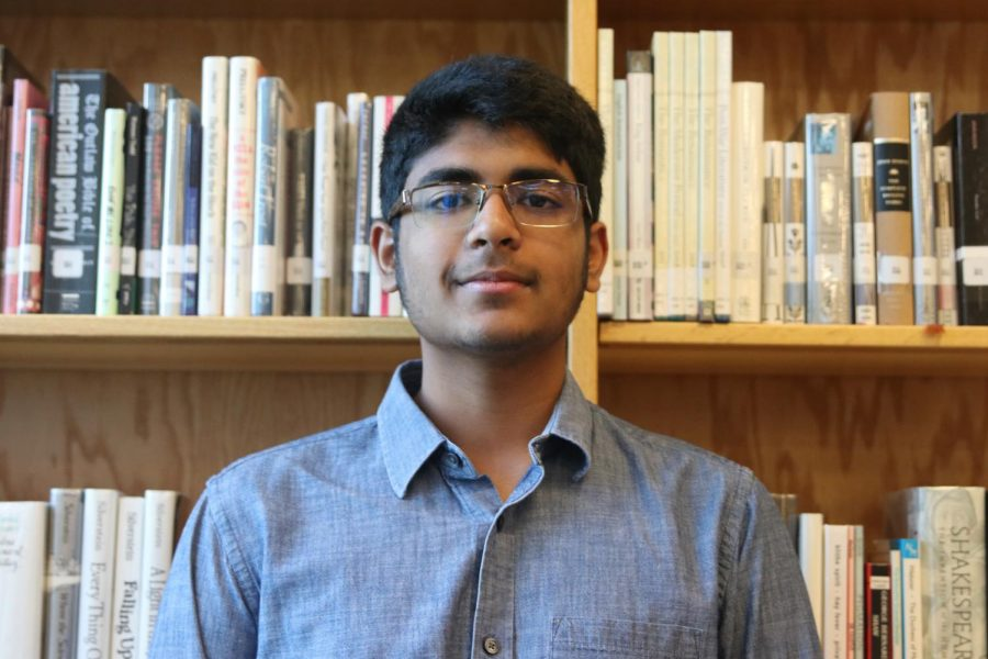 Student tech Manoj Turaga utilizes his family background in technology