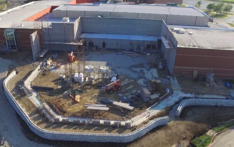 New construction affects students and staff across the school