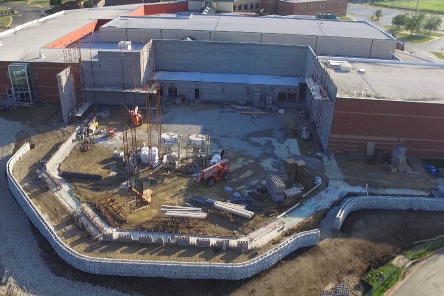 The construction of a new gym and theater has caused inconveniences and problems for a large portion of students, staff and activities.