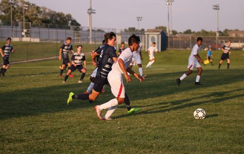 Gallery: Boys soccer ends first home game with a 2-0 win over Olathe North