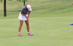 Girls golf takes first place at home tournament