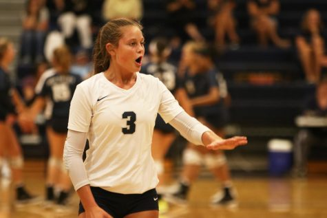 Gallery: Girls volleyball defeats Blue Valley Northwest