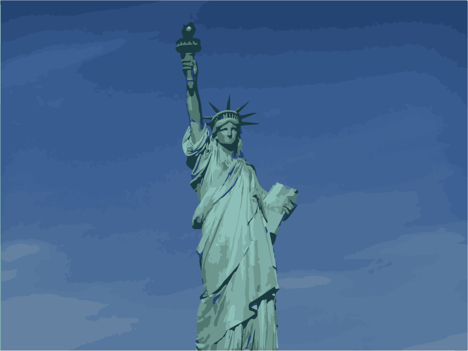 The Statue of Liberty represents America's welcoming spirit, a spirit that arguably has been lost in modern society.