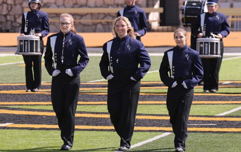Gallery: Marching band receives a one rating at Emporia State University Marching Festival