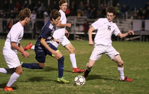 Gallery: Boys soccer loses 1-0 against Blue Valley in overtime