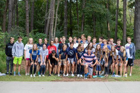 Cross country team goes on annual summer trip